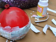 Pretty Paper Trinket Bowl