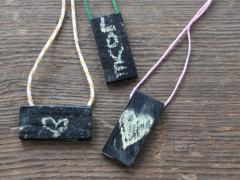Chalkboard Necklace