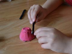 Egg Carton Ladybug