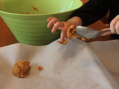 Three-Ingredient Peanut Butter Cookies