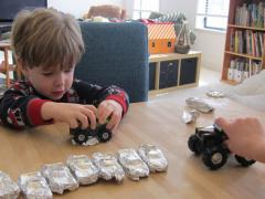 Tin Foil Monster Truck Rally
