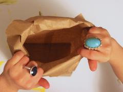 Paper Bag Nest