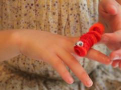 Pipe Cleaner Caterpillar