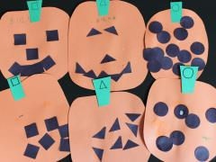 Decorating Paper Pumpkins