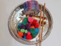 Pie Tin Cymbals