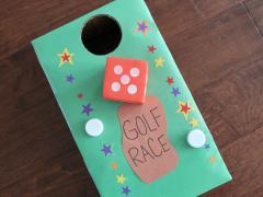 Golf Race Game