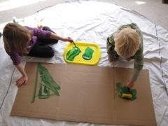 Cardboard Learning Tree