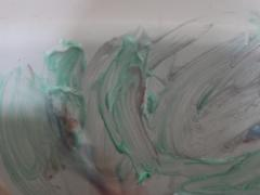 Shaving Cream Bath Tub Paint