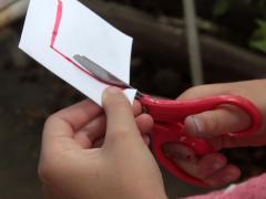 Paper Finger Boomerang