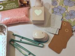 Scented Wax Gift Tags