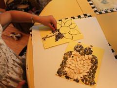 Pumpkin Seed Mosaic