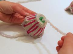 Egg Carton Chimes