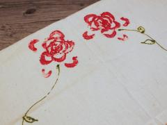 Rose Print Napkin Set