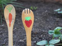 Wooden Spoon Garden Sticks
